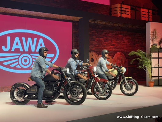300cc Jawa motorcycles launched in India starting at INR 1.55 lakh | Shifting-Gears