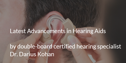 Hearing Loss Treatments: Advancements in Hearing Aids | The MD.com Blog