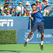 Somdev Devvarman - jumping backhand