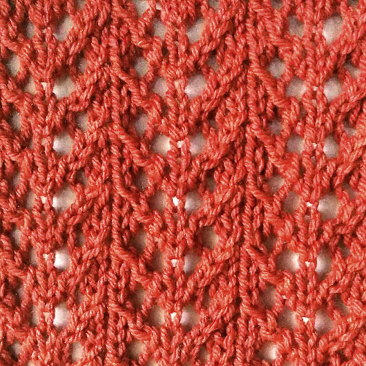 Fern Lace Stitch - Purl Avenue