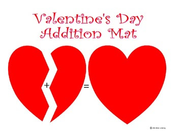 FREEBIE Valentine Add & Subtract Mats