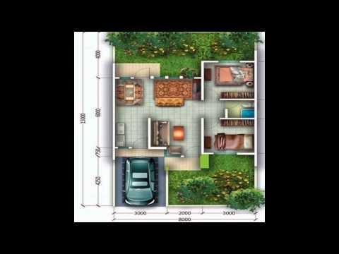 most wanted gambar denah rumah minimalis type 60 model 1