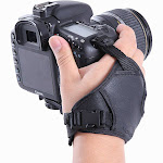 Movo Photo HSG-2 DualStrap Padded Wrist and Grip Strap for DSLR Cameras