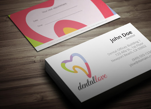 Download: Dentist Business Card - MH Design