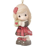 Have a heartwarming christmas 2019 girl ornament