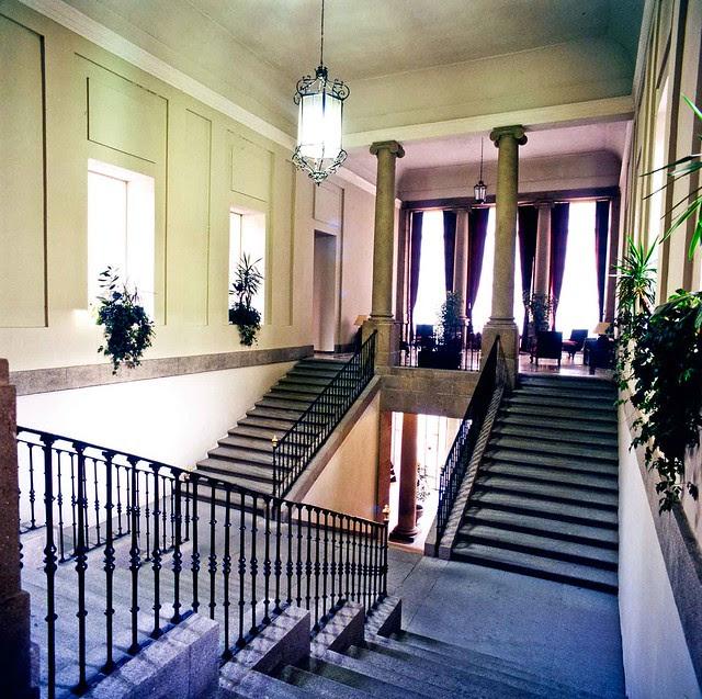 Escalera principal del Palacio del Nuncio. Fotografía de José María Moreno
