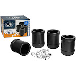 WE Games Dice Cup Set - 4 Professional Grade Plastic with 20 Dice and Instructions for Liar's Dice Plus 10 Different Games
