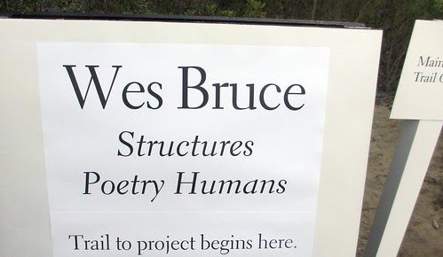 Wes Bruce Installation at the Lux Museum