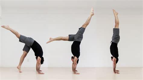 handstand step  step handstand tutorial
