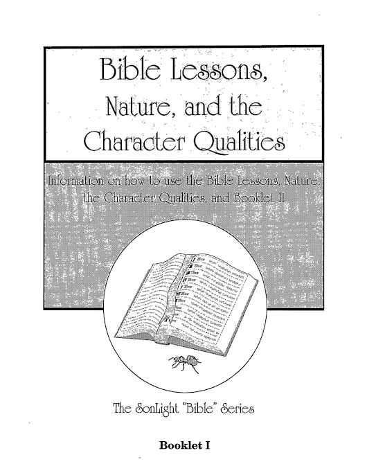 New Release: Bible Lessons, Nature, and the Character Qualities