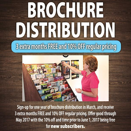 March Special - Brochure Distribution