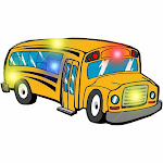 Blinkee 3705000 School Bus Flashing Body Light Lapel Pins