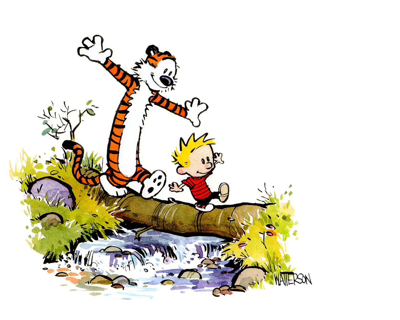 Calvin And Hobbes Christmas Clipart Clip Art Library