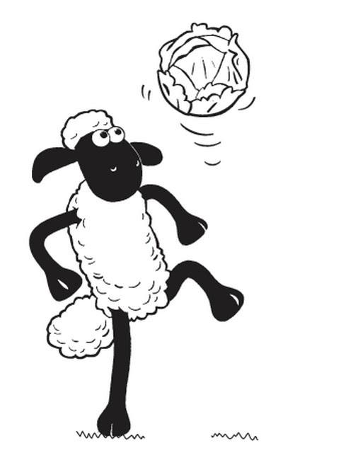 Coloriages Shaun Le Mouton Bonjour Les Enfants