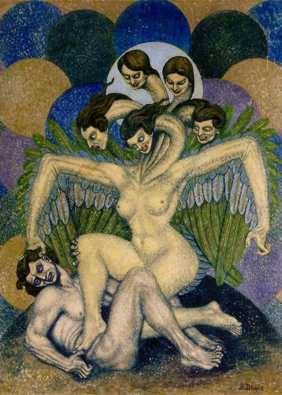 Boleslaw Biegas - The Third Vampire Metamorphosis, 1916 - 1917