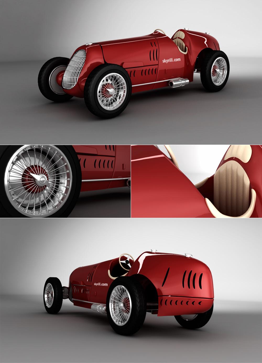 Modifications of Alfa romeo 12c. www.picautos.com