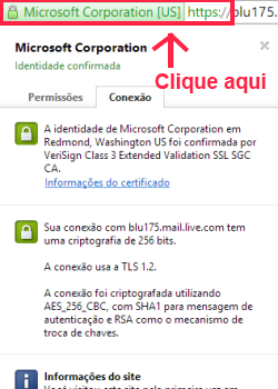 site homologado e verificado por verisign