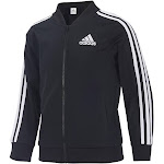 Adidas Big Girls' Tricot Bomber Jacket - Black