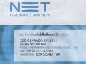 Cliente teve nome alterado para xingamento (Foto: Kátia Nogueira/Arquivo Pessoal)