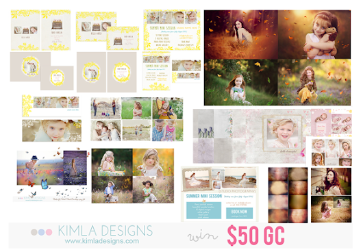 8 Days of Giveaways!  Day 4:  $50 Gift Card to Kimla Designs AND Split Yarn camera strap!