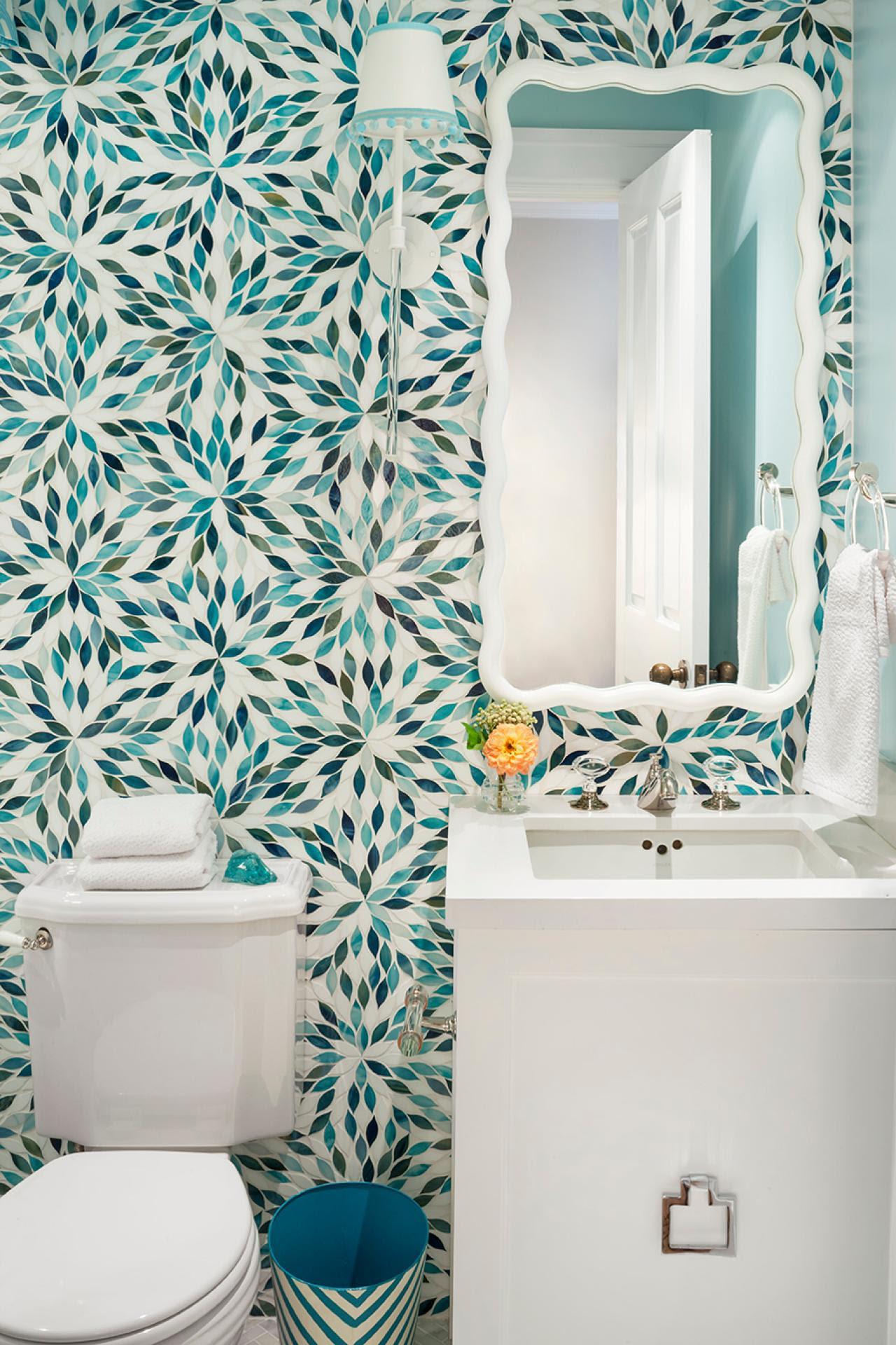 Top 20 Bathroom Tile Trends of 2017 | HGTV's Decorating ...