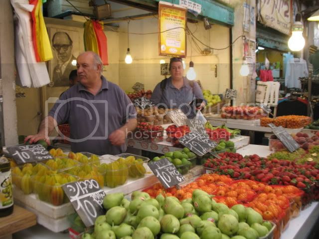 Jerusalem's Machane Yehuda Open Market