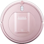 EYUGLE Sweeping Vacuum Robot Cleaner 3 Cleaning Mode 5cm Anti-falling Anti-collision 7.6cm Height 500pa Suction Rose Gold