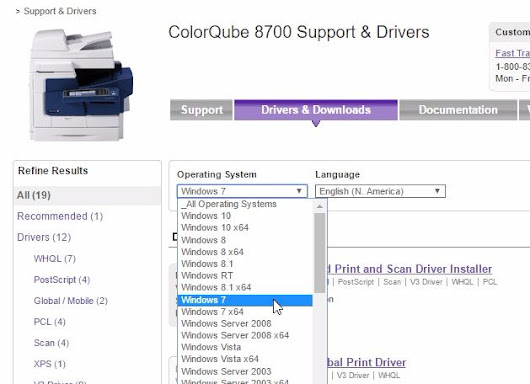 Download Xerox Document Centre 340 ST printer driver & support