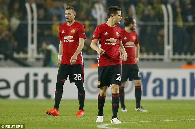 After falling 2-0 down, United struggled to make chances before Wayne Rooney's late goal