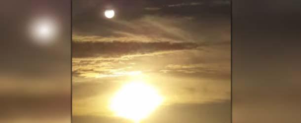 Una mujer cree haber grabado en video al legendario planeta Nibiru frente a la costa de Florida