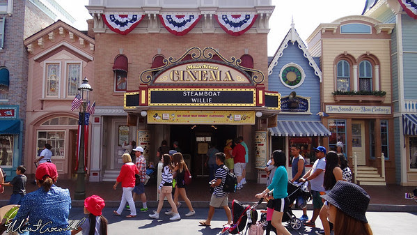 Disneyland Resort, Disneyland, Main Street U.S.A., Main Street Cinema