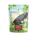 Organic Black Turtle Beans, 5 Pounds - by Food to Live