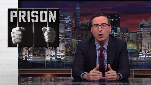 Watch John Oliver explain the insanity of our prison system