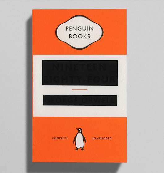The Cover of George Orwell's 1984 Becomes Less Censored with Wear and Tear Open Culture