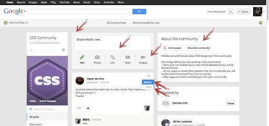Google+ new theme is just awesome!