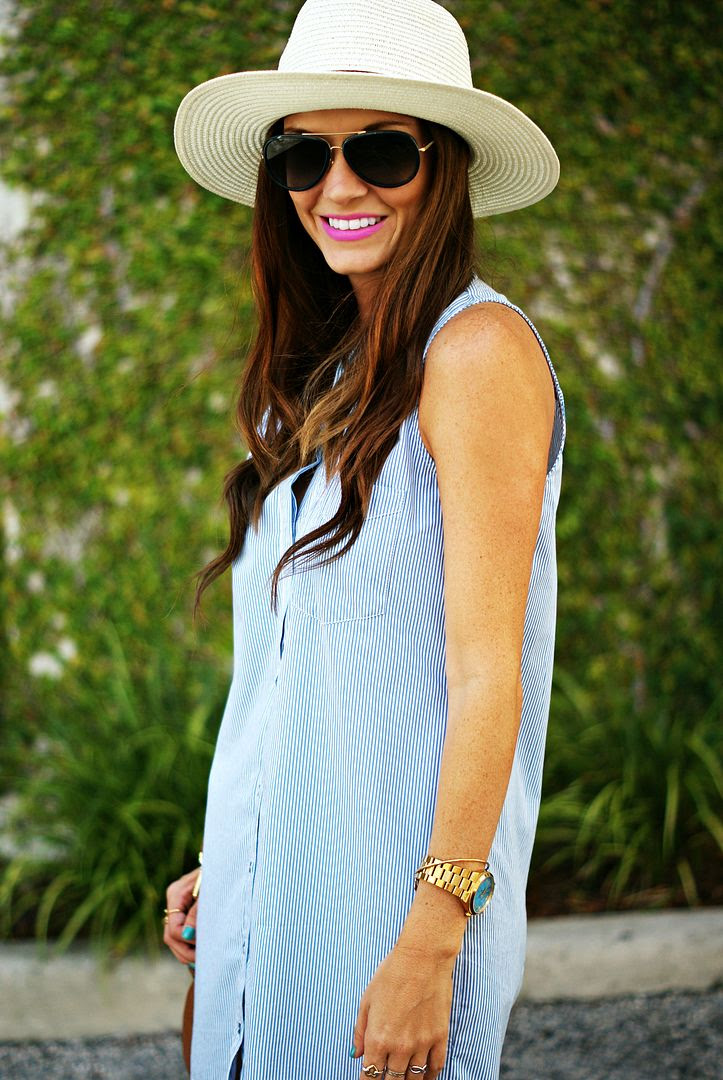 Summer Shirt Dress