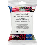 Wet N Wild Under the Sheets Makeup Remover, Towelettes - 25 towelettes