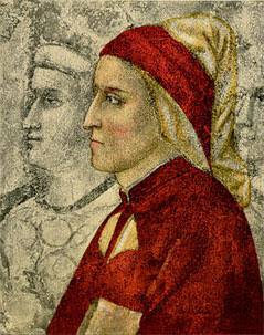 Portrait of Dante by Giotto