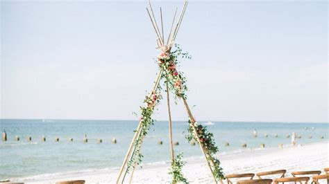 A Luxe, Bohemian Wedding in Naples, Florida   Martha