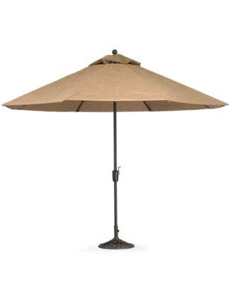 Paradise Outdoor 9' Auto-Tilt Umbrella - Furniture - Macy's