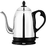 Melitta Pour Over Kettle, Silver