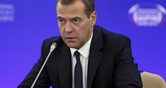 Prime Minister Dmitry Medvedev attends Sochi-2015 international investment forum