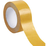 Heavy Duty Carpet Tape for Area Rugs, Self Adhesive Rug Gripper, 2-Inch, Double Sided 2-Sided Tape, Anti-Skid, Anti-Curling, Anti-Slip Tape for