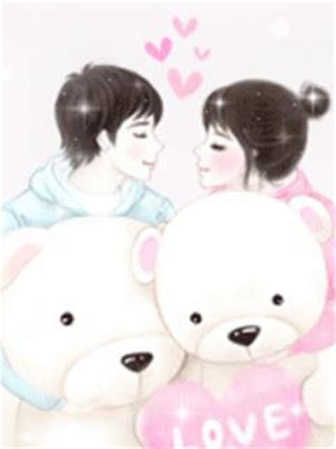 love story indriindori kartun korea  sweet