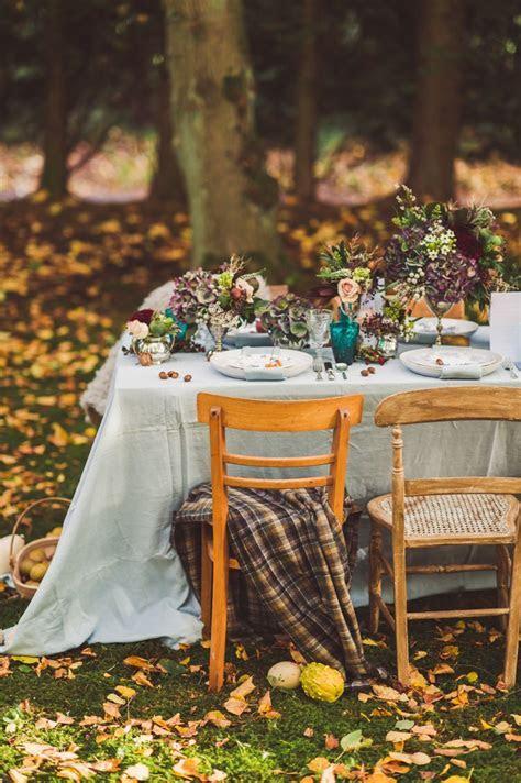 Autumn Fall Inspired Wedding Decor and Fashion Editorial