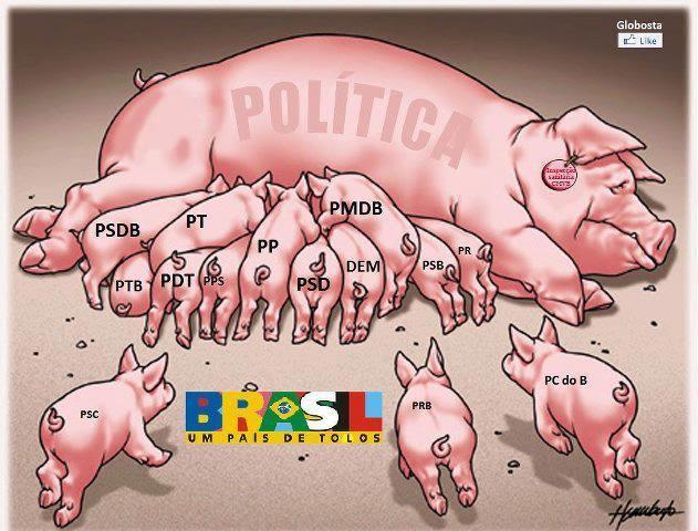 Resultado de imagem para POLÍTICO SÓ PENSANDO NELE