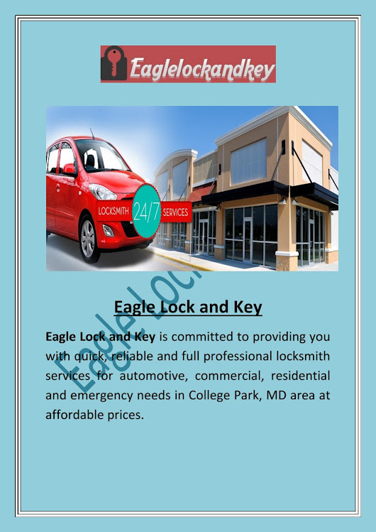 24 Hour Locksmith in College Park MD