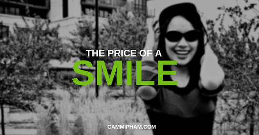 The Price of a Smile — Personal Growth