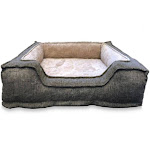 American Kennel Club Akc1858-tv Dense Ortho Cuddler Pet Bed, Extra Large
