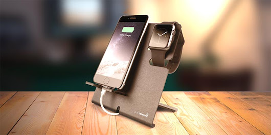 XStand2 – Apple Watch And Phone Stand Reloaded
